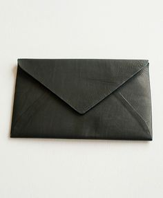 leather envelope wallet. by maison martin margiela.