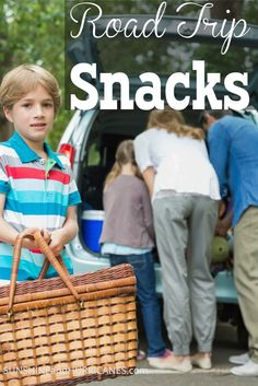 Before you begin a family road trip, be sure to check out this NEW way to handle snacks for the kids! Teach kids responsibility and management while traveling and eliminate complaining or whining about food! Road Trip Snacks