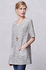 Shimmered Boucle Tunic  $78.00