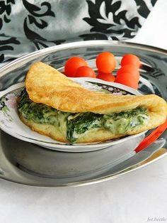 Omlet serowy ze szpinakiem i fetą-galeria-Mloda- slajd1
