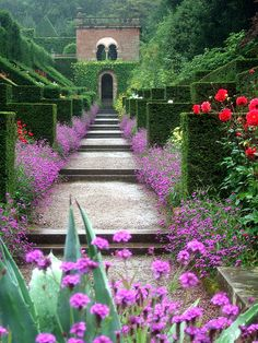 Biddolph Grange garden in Staffordshire, England, one of the most stunning gardens I have ever seen