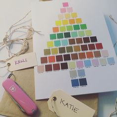 Thanks to our creative director, we'll be ready for anything, from getting lost in the wilderness to choosing the perfect @pantone shade! #DecodeDecksTheHalls