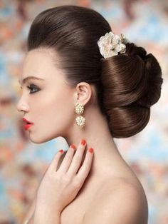 Gorgeous Volume Brown Homecoming and Prom Hairstyle - Homecoming Hairstyles 2014