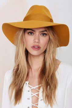 Brixton Piper Wool Hat - Mustard | Shop Accessories at Nasty Gal!