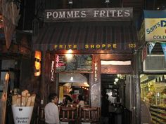 Pomme Frites - NYC