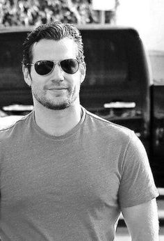Henry Cavill with Shades = Happy fangirl