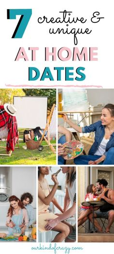 Staying at home doesnt mean you can't do date night! These creative and unique Stay At Home Date Ideas are great for keeping the romance alive at home. Water Games For Kids, Indoor Activities For Kids, Summer Activities, Family Activities, Romantic Scavenger Hunt, Scavenger Hunt List, Outdoor Dates, At Home Date Nights, At Home Dates