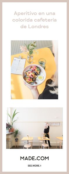 Neighbourhood cafe, urban farm, co-working space. Snackbar London is a pastel, millennial dream. Deco Pastel, Work Cafe, Co Working, Candy Colors, Yummy Snacks, Diy Room Decor, Easy Crafts, Life Hacks, Entertaining