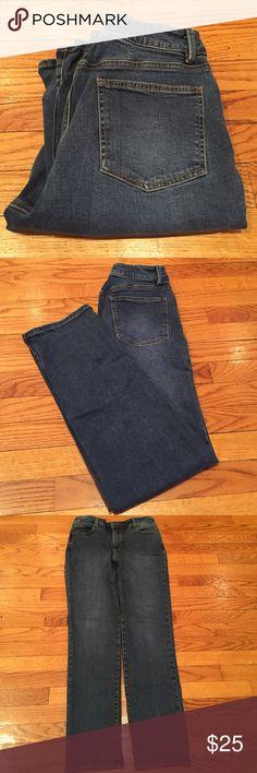Talbot's Heritage denim jeans 33 inch waist. 11 inch rise. 31 inch inseam. Talbots Jeans Straight Leg