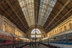 Arriving in Budapest by chris.chabot, via Flickr