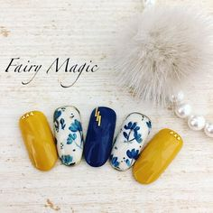 23 Great Yellow Nail Art Designs 2019 Related posts: 43 Best Spring Nail Art Designs to Copy in 2019 20 Winter Nail Art Designs, Ideas, Trends & Stickers 2019 42 Easy Nail Art Designs 27 Cute Nail Designs You Need to Copy Immediately Yellow Nails Design, Yellow Nail Art, Blue Nail Designs, Nail Designs Spring, Cool Nail Designs, Korean Nail Art, Korean Nails, Spring Nails, Summer Nails