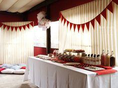 ideas para una fiesta para mayores party fiestas ideas rojo candybar