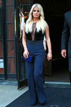 Jessica Simpson working it in NYC