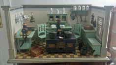 Traumhaft schönes großes Puppenküchengehäuse Fa. Hacker? | eBay