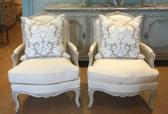 Shop bergere chairs and other antique and modern chairs and seating from the world's best furniture dealers. Furniture Making, Furniture Decor, Bergere Chair, Luxury Chairs, French Interiors, Jacobean, Modern Chairs, 19th Century, Beach House