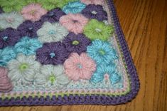 Mollie Flower Baby Blanket | Crafty Cori Strikes Again