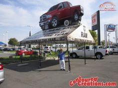 Inflatable Dodge Truck