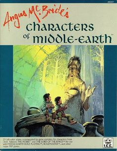 Product Line: Middle Earth Roleplaying Product Edition: M1 Product Name: Angus McBride's Characters of Middle-earth Product Type: Sourcebook Author: Jessica Ney Stock #: 8007 ISBN: 1-55806-134-7 Publisher: ICE Cover Price: $14.95 Page Count: 64 Format: Softcover Release Date: 1990 Language: English