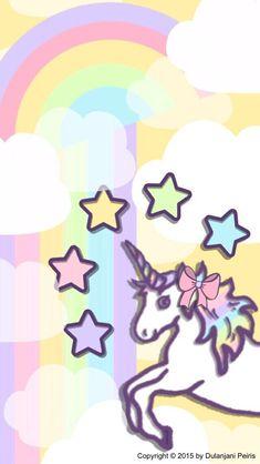 Dulanjani Peiris Unicornios Wallpaper, Wallpaper Backgrounds, Pattern Wallpaper, Unicorn Backgrounds, Borders For Paper, Disney Quotes, Space Crafts, Star Designs, Unicorn Party