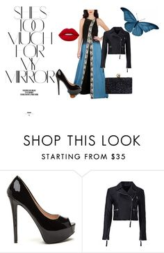 """""""Glam Evening Look"""" by strandofsilk ❤ liked on Polyvore featuring Rika, Marissa Webb and Lime Crime"""