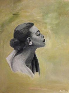 "Saatchi Online Artist: Iva Mara; Acrylic, Painting ""See No Evil"""