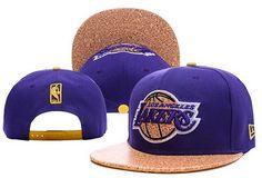 NBA Los Angeles Lakers Snapback Purple