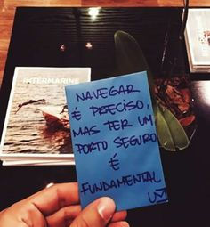 Navegar é preciso... Gift Quotes, Me Quotes, Word 3, Special Words, Psychology Facts, Cool Words, Heaven, Tumblr, Thoughts