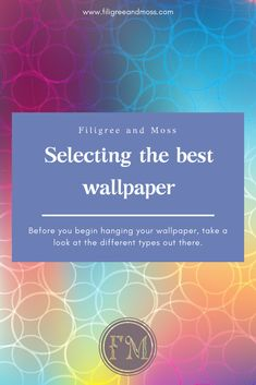 Selecting the Best Wallpaper & Five Reasons to Hire an Interior Designer: Part 2 | Other Worlds ...