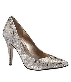 These would match so many things and be a nice alternative to predictable black or nude colored heels