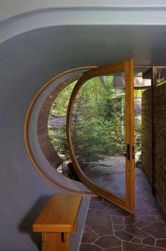 """24. """"Wilkinson Residence"""" projetada em 1997 por Robert Oshatz, localizada em Oregon, nos Estados Unidos."""