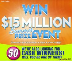 I christina King claim WINNER publishers clearing House accept the offer of the money's and thank God Bless driving here Instant Win Sweepstakes, Online Sweepstakes, Money Sweepstakes, Win Online, Lotto Winning Numbers, Lotto Numbers, 10 Million Dollars, Win For Life, Winner Announcement