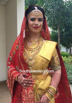 Radhika Daughter Rayanes Wedding Jewellery photo