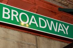 In the Broadway's corner