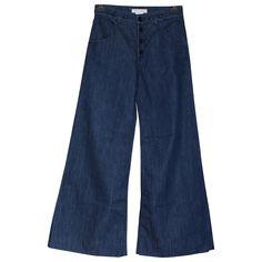 CHLOÉ Pantalone en Denim - Vaquero Azul
