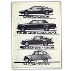 This Old 2CV Ad Is Just Fantastic