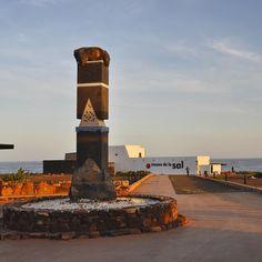 #ExploreFuerte due passi a Salinas de El Carmen alla scoperta del Museo de la Sal il museo del sale con una passeggiata molto piacevole tra le antiche saline dell'isola! #ExploreCanarie #Spagna