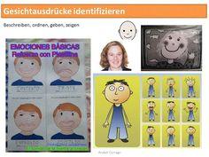 Autismus Arbeitsmaterial: Gesichtausdrücke identifizieren: Ideen