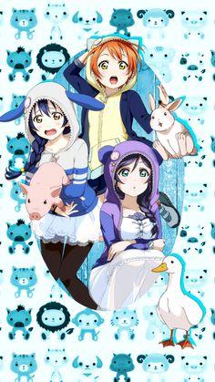 Nozomi, Rin and Umi (Love Live! School Idol Project)