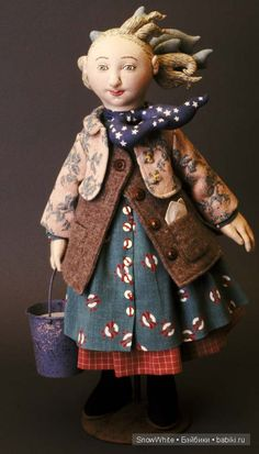 Текстильные куклы Шелли Торнтон (Shelley Thornton dolls) / Авторская кукла известных дизайнеров / Бэйбики. Куклы фото. Одежда для кукол