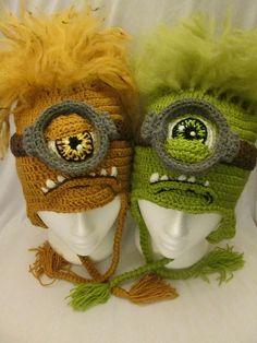 Ravelry: Monster Alien Hat pattern by Mistybelle Crochet