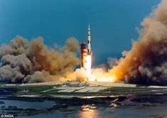 Nasa employed the rocket booster to perform seismic measurements during its Apollo 16 miss...