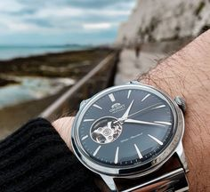 A change of scene goes a long way. Nature calling out details that shouldn't be overlooked. ⌚: RA-AG0004B10A Orient Watch, Contemporary Classic, Stainless Steel Case, Scene, Change, Watches, Nature, Naturaleza, Wristwatches