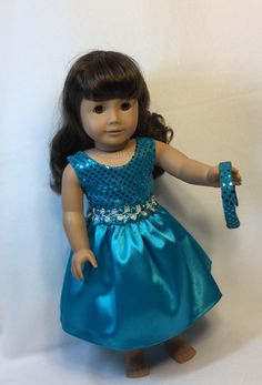 A personal favorite from my Etsy shop https://www.etsy.com/listing/557419722/18-inch-doll-dress-fits-like-american
