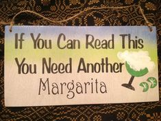 You know you need and want a Frozen Margarita! Cheers for this weekend!