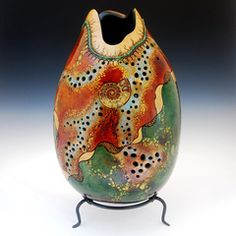 Painted Gourd by ??