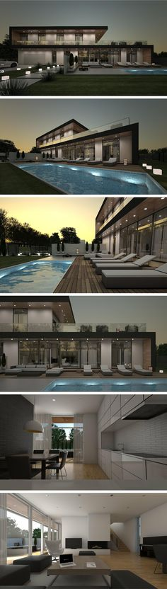 Modern house in Vilnius by NG architects www.ngarchitects.lt – Luxury Abodes