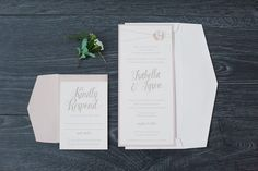 Invitation Suite | Sweet Light Photography | see more at http://fabyoubliss.com