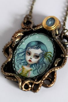 The Little Mermaid - original cameo by Mab Graves by mab graves, via Flickr