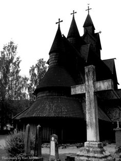 Heddal Stavkirke , Norway year 1250 ~