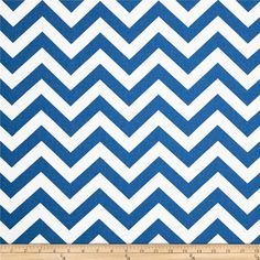 Premier Prints Zig Zag  Cobalt from @fabricdotcom  Screen printed on cotton duck; this versatile medium weight fabric is perfect for window accents (draperies, valances, curtains and swags), accent pillows, duvet covers and upholstery. Create handbags, tote bags, aprons and more. *Use cold water and mild detergent (Woolite). Drying is NOT recommended - Air Dry Only - Do not Dry Clean. Colors include blue and white.